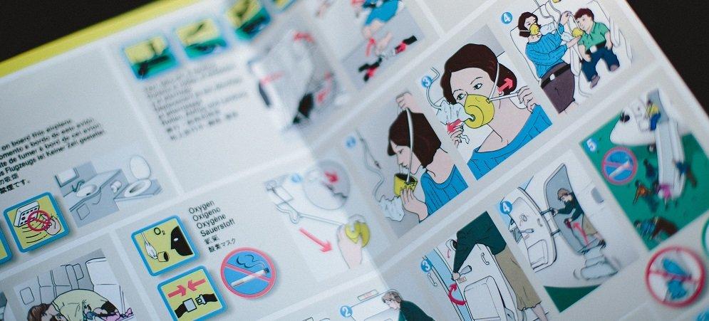 Flight safety card